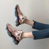 1006.36 руб. 30% СКИДКА|2019 брендовая Повседневная обувь; Женская кроссовки с пэчворком на платформе; zapatos de mujer; женская обувь из натуральной кожи; chaussures femme-in Женская вулканизированная обувь from Туфли on Aliexpress.com | Alibaba Group