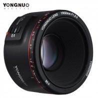 4749.5 руб. 40% СКИДКА|YONGNUO YN50mm объектив YN50mm F1.8 II большая апертура Автофокус Объектив для Canon Bokeh эффект объектив для Canon EOS 70D 5D2 5D3 600D купить на AliExpress
