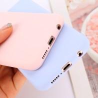 Чехол конфетного цвета для Huawei Y6 Y5 Prime 2018 P20 P9 P10 Коврики 10 Lite Honor 10 9 Lite 7C 7A Pro 8X 8C P Smart мягкие силиконовые чехлы купить на AliExpress