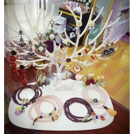 € 4.22 35% de réduction|Nouveau support de stockage de mode tête de cerf bijoux présentoir bijoux pendentif boucles d