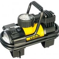 Купить Автомобильный компрессор Качок K90 LED желтый по низкой цене с доставкой из маркетплейса Беру