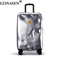 Чехол для багажа на колесиках, сумка для путешествий, Женский чехол на колесиках, 20 дюймов, сумка для путешествий, чехол для багажника в стил... - Готовы к путешествиям