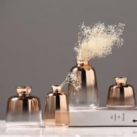 1225.65 руб. |Стеклянная ваза мини нордическая Гальваническая золотистая ваза стеклянные вазы для цветов для домашнего декора сушеная ваза Бар Ресторан украшение-in Вазы from Дом и животные on Aliexpress.com | Alibaba Group
