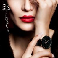 919.75 руб. 49% СКИДКА|Shengke модные черные женские часы 2017 Высокое качество ультра тонкие кварцевые часы женские элегантные женские часы под платье Montre Femme SK-in Женские часы from Ручные часы on Aliexpress.com | Alibaba Group