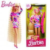 2717.16 руб. 39% СКИДКА|Оригинальные куклы Барби 25th Коллекционная красивая принцесса для маленьких девочек игрушки для детей подарок для детей Brinquedos Bonecas-in Куклы from Игрушки и хобби on Aliexpress.com | Alibaba Group