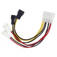 156.29 руб. 11% СКИДКА|IDE Molex 4 контакт в случае вентилятор охлаждения 3 контактный TX3 Multi веером Мощность адаптер конвертер кабель w/Скорость сокращения, 2x5 В/2x12 В on Aliexpress.com | Alibaba Group