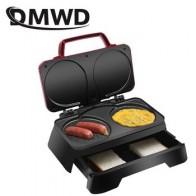 DMWD электрическая вафельница Маффин торт Дораяки 3-в-1 машина для завтрака бытовые жареные яйца сэндвич тостер Креп гриль ЕС США