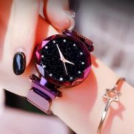 US $3.48 33% OFF|أعلى العلامة التجارية ساعات للنساء روز الذهب شبكة المغناطيس مشبك مليء بالنجوم ساعة كوارتز هندسية سطح عارضة النساء الكوارتز ساعة اليد-في ساعات نسائية من ساعات اليد على Aliexpress.com | مجموعة Alibaba