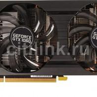 Видеокарта PALIT nVidia  GeForce GTX 1060 ,  PA-GTX1060 DUAL 6G
