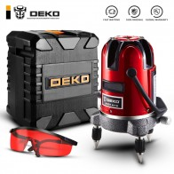 US $31.82 48% OFF|DEKO LL5 Series 5 Line 6 Points Red/Green Laser Level Self leveling Horizontal&Vertical 360 Degree Adjustment Higher Visibility-in Laser Levels from Tools on Aliexpress.com | Alibaba Group