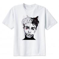 484.72 руб. 40% СКИДКА|Новейшая модная мужская футболка Xxxtentacion летняя модная футболка Повседневная белая смешной мультяшный принт футболка хип хоп топы-in Футболки from Мужская одежда on Aliexpress.com | Alibaba Group