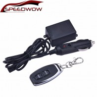 SPEEDWOW 12V Electronic Exhaust Cut Out Kit Remote Control Switch With Control Box
