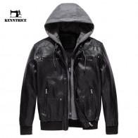 5886.59 руб. |KENNTRICE кожаная куртка с капюшоном куртка для мотоциклиста съемный капюшон на молнии куртка из искусственной кожи мужская-in Куртки из кожзама from Мужская одежда on Aliexpress.com | Alibaba Group