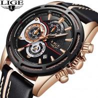 1568.72 руб. 92% СКИДКА|LIGE новые мужские s часы лучший бренд класса люкс кварцевые часы мужские кожаные военные водонепроницаемые спортивные наручные часы Relogio Masculino-in Спортивные часы from Ручные часы on Aliexpress.com | Alibaba Group