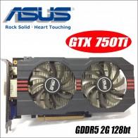 2930.54 руб. |Б/у Asus GTX 750TI OC 2GD5 GTX750TI GTX 750TI 2G D5 DDR5 стационарного персонального компьютера Графика видеокарты PCI Express 3,0 GTX 750 ti 1050 GTX750-in Графические карты from Компьютер и офис on Aliexpress.com | Alibaba Group