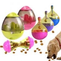 Кормушки для домашних животных кошки собаки утечка еда мяч массажер интерактивные игрушки Щенячий тренировка забавные чаши автоматически...