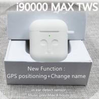 Оригинальный i90000 Max TWS Air 2 изменить название местоположение Bluetooth гарнитура в ушной датчик PKi90000Pro i1000 i2000 i9000X i5000 i9000TWS