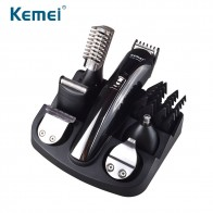 US $25.0 39% OFF|Kemei Hair Trimmer Can Charged 6 In 1 Rechargeable Hair Trimmer Titanium Hair Clipper Electric Shaver Beard Trimmer Men Use-in Hair Trimmers from Home Appliances on Aliexpress.com | Alibaba Group