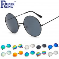 US $1.79 |FOENIXSONG New Round Sunglasses For Men Women Vintage Sun Glasses Retro Unisex Eyeglasses Female Mirror Oculos de Sol Feminino-in Women