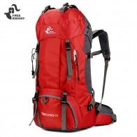 1272.37 руб. 14% СКИДКА|Бесплатная рыцарь 60л Кемпинг походные рюкзаки сумка нейлоновая наружная дорожная сумка рюкзаки тактическая спортивная сумка для альпинизма с дождевой крышкой 50л купить на AliExpress