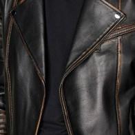 Мужская кожаная куртка Derimod ME-5638087544 - Мужские кожаные куртки