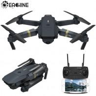 € 35.04 50% de réduction|Eachine E58 WIFI FPV avec caméra grand angle HD mode de maintien élevé bras pliable drone quadricoptère RTF VS VISUO XS809HW JJRC H37-in RC Hélicoptères from Jouets et loisirs on Aliexpress.com | Alibaba Group