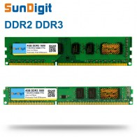 US $7.88 |SunDigit DDR 2 3 DDR2 DDR3 / PC2 PC3 1GB 2GB 4GB 8GB 16GB Computer Desktop PC RAM Memory PC3 12800 1600MHz 1333MHz 800MHz-in RAMs from Computer & Office on Aliexpress.com | Alibaba Group