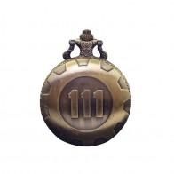 Cindiry золото игра Fallout 4 хранилище 111 кварцевые карманные часы Analog подвеска Цепочки и ожерелья часы для мужчин и женщин мальчик подарок P19 купить на AliExpress