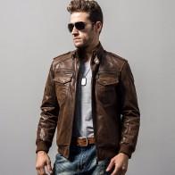 7841.81 руб. 40% СКИДКА|Мужская мотоциклетная куртка из свиной кожи с подкладкой из хлопка, зимнее теплое пальто, мужская куртка из натуральной кожи-in Куртки из кожи from Мужская одежда on Aliexpress.com | Alibaba Group