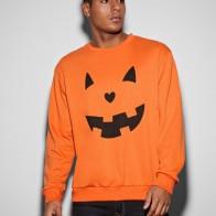 Men Halloween Print Sweatshirt