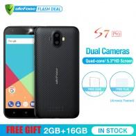 4292.8 руб. 16% СКИДКА|Ulefone S7 Pro 2 ГБ +16 ГБ  двойная камера мобильный телефон 5.0 дюймов HD MTK6580 4 ядра Android 7.0  13MP камера 3G WCDMA Смартфон купить на AliExpress