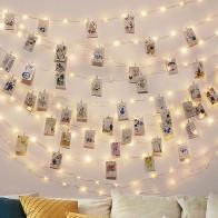 143.54руб. 15% СКИДКА|2 м/5 м/10 м зажим для фото USB светодиодный гирлянды сказочные огни наружная гирлянда на батарейках рождественские украшения вечерние, свадебные, рождественские-in LED-гирлянды from Лампы и освещение on AliExpress