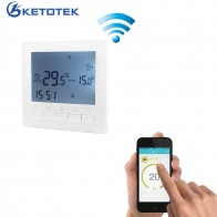 € 23.19 31% de réduction|16A AC 220 V WIFI Thermostat de chauffage eau/système de chauffage électrique WIFI Thermostat APP commandes pour plancher chaud-in Température Instruments from Outils on Aliexpress.com | Alibaba Group