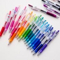 665.15 руб. 24% СКИДКА|JIANWU 6 шт. 12 36 шт./компл. японский пилот сок ручка Цвет гелевая ручка пресс нейтральная ручка школьные принадлежности 0,5 мм купить на AliExpress