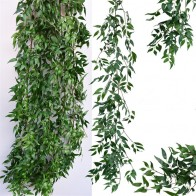 US $7.71 30% OFF|Artificial Willow vine faux plant for Wedding decoration plantas artificiales fake leaves garland rattan lierre artificiel-in Artificial Plants from Home & Garden on Aliexpress.com | Alibaba Group