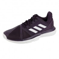 adidas Court Jam Bounce All Court Shoe Women - Violet, White