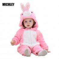 754.73 руб. 27% СКИДКА|MICHLEY/Одежда для новорожденных комбинезон для маленьких мальчиков и девочек, комбинезон для новорожденных, одежда для малышей с капюшоном, милые костюмы для малышей-in Ромперы from Мать и ребенок on Aliexpress.com | Alibaba Group