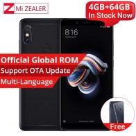 US $143.99 20% OFF|الأصلي Xiaomi Redmi ملاحظة 5 4 GB 64 GB الهاتف الذكي أنف العجل 636 الثماني النواة 2160x1080 5.99 بوصة 4000 mAh 12MP المزدوج كاميرا MIUI-في الهواتف النقالة من الهواتف المحمولة ووسائل الاتصالات على Aliexpress.com | مجموعة Alibaba