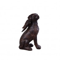 US $22.59 43% OFF|Home Decor Resin Angel Dog Figurines Miniature Crafts Creative Angel Dog Sculpture Statue Desk Home Decor Business Wedding Gifts-in Statues & Sculptures from Home & Garden on Aliexpress.com | Alibaba Group