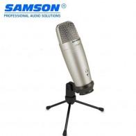 5129.27 руб. 33% СКИДКА|100% Оригинальный Samson C01U Pro USB Студийный конденсаторный микрофон для записи музыки ADR работа звук Foley аудио для YouTube видео-in Микрофоны from Бытовая электроника on Aliexpress.com | Alibaba Group
