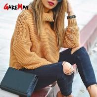 € 15.55 45% de réduction|Pull femme col roulé pull femme pull chaud pour femme pull grossier pull épais hiver tricoté chandail surdimensionné-in Pulls from Mode Femme et Accessoires on Aliexpress.com | Alibaba Group