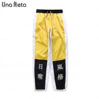 1553.58 руб. 49% СКИДКА|Una Reta хип хоп брюки мужские новые модные штаны шаровары с принтом китайских персонажей уличная мужская беговые брюки в повседневном стиле брюки спортивные штаны-in Шаровары from Мужская одежда on Aliexpress.com | Alibaba Group