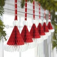 240.62 руб. |3 шт. рождественские соты Санта шляпы бумажные шапка Санта Клауса рождественские подарки рождественские праздничные подвесные украшения-in Новогодние украшения-подвески from Дом и сад on Aliexpress.com | Alibaba Group