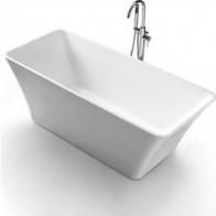 Акриловая ванна BelBagno 150x75 слив-перелив хром (BB60-1500-750), купить в интернет-магазине по цене 62 790 руб - Ванны супер