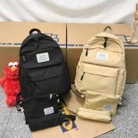 720.61 руб. 25% СКИДКА|Модный рюкзак для женщин, комплект из 3 предметов, ученическая сумка с наплечным ремнем, рюкзак ярких цветов, школьные сумки для девочек подростков-in Рюкзаки from Багаж и сумки on Aliexpress.com | Alibaba Group
