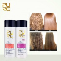 US $10.74 60% OFF|PURC 12% formalin keratin hair treatment and purifying shampoo hair care products set 2018 Brazilian keratin free shipping-in Hair & Scalp Treatments from Beauty & Health on Aliexpress.com | Alibaba Group