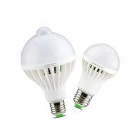 93.37 руб. 36% СКИДКА|Smart Sound/движения PIR Сенсор светодио дный свет лампы 3 Вт 5 Вт 7 Вт 9 Вт 12 Вт E27 220 В индукционные лампы Лестницы прихожей свет ночь белого цвета купить на AliExpress