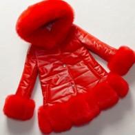 3551.32 руб. 49% СКИДКА|На осень зиму куртка для детей с капюшоном и воротником manteau hiver 2018 adolescente filles искусственного меха лисы Детские плотные теплые пальто S951 купить на AliExpress