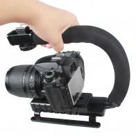 587.87 руб. |C образный держатель ручка Видео Ручной Стабилизатор карданного стабилизатора для DSLR Nikon Canon sony камера и легкий портативный Steadicam-in Ручные стабилизаторы from Бытовая электроника on Aliexpress.com | Alibaba Group