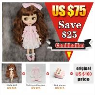 2942.58 руб. 25% СКИДКА|ICY factory blyth doll 1/6 bjd комбинированная комбинация с платьем Обувь Специальное предложение на продажу-in Куклы from Игрушки и хобби on Aliexpress.com | Alibaba Group